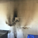 commercial electrical fire