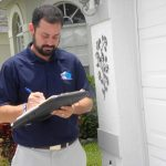 Analysis of property damage for insurance claim