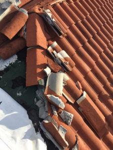 Roof leak claim denied by insurance