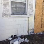 Exterior storm damage repairs