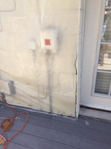 exterior storm damage insurance claim