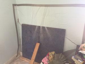 Home storm damage insurance claim