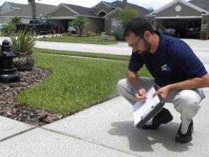 Insurance claim property damage analysis
