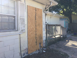 residential property damage insurance claim denied